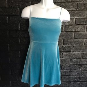 Urban Outfitters velvet mini dress size: XS